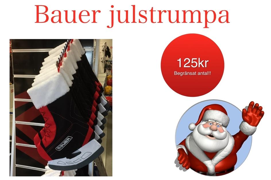 Bauer Julstrumpa